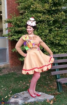 Hope: The idea for my Gingerbread Girl costume originally came from the board game Candyland and my love for all things sweet! Gingerbread cookies are one of my favorite treats so...