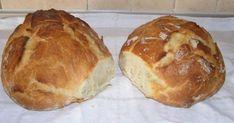 Για το ψωμάκι χωρίς ζύμωμα! Υλικά 1 κιλό αλεύρι για όλες τις χρήσεις 2 φακελάκια μαγιά ξερή 1 κουταλάκι ζάχαρη 2 κουταλάκια αλάτι 4 κουταλιές ελαιόλαδο