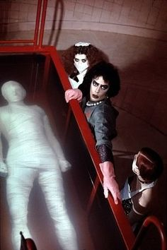 """Rocky Horror Picture Show, The"" Patricia Quinn, Tim Curry, Nell Campbell 1975…"