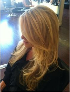Beautiful layers for longer hair hair-nails-and-beauty Hair Day, New Hair, Long Hair Cuts, Long Hair Styles, Short Styles, Waist Length Hair, Shoulder Length, Breaking Hair, Corte Y Color