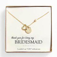 With a charm and freshwater pearl, this Open Heart Charm Necklace is a keepsake every bridesmaid will wear and treasure for years. Bridesmaid Thank You, Bridesmaid Jewelry, Bridesmaid Gifts, Wedding Jewelry, Bridesmaids, Bridesmaid Ideas, Gifts For Wedding Party, Wedding Ideas, Party Gifts