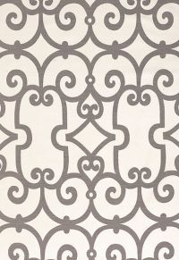 Love this Schumacher print! -manor gate in charcoal