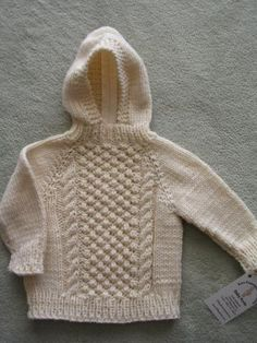 Hand Knit Baby Sweaters on Pinterest Front Button, Knit Sweaters and Beauti...