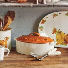 Pumpkin Cocotte, available at #surlatable