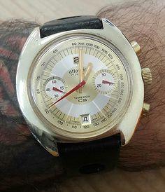 FS: Atlantic Timeroy CS valjoux 7734 original condition