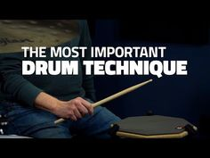 The Most Important Drum Technique In The World - Drum Lesson - YouTube