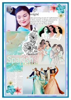 """""""Spanish Notebook"""" by disneygirl2820 on Polyvore featuring art"""