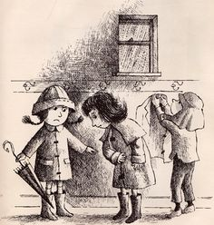 """""""The Quarreling Book"""" - written by Charlotte Zolotow, illustration Arnold Lobel (1966)"""