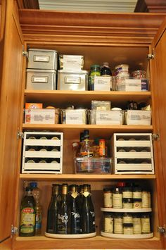 Lovely Set Up In The Pantry Serendipity Refined Sugar And E Kitchen Cabinet Makeover