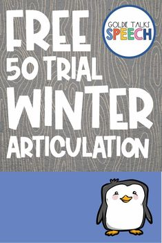 Give your speech room some Cozy Winter style with this free 50 trial articulation sheet. Students can roll dice and color in the cute winter pictures as they rack up 50 trials of their speech targets. This would be great for older and younger students. Speech Therapy Themes, Therapy Games, Speech Language Pathology, Speech And Language, Therapy Ideas, Articulation Therapy, Articulation Activities, Speech Therapy Activities, Language Activities