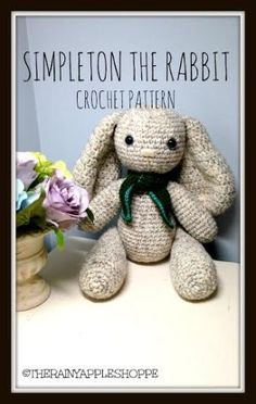 Easter Crochet Pattern: Simpleton the Rabbit
