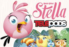 """Using the Telepods platform, kids will be able to """"teleport"""" Stella and her friends into Rovio's Angry Birds Stella game using their smart devices."""