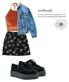 """""""Wishlist"""" by vikyarmstrong ❤ liked on Polyvore featuring moda, The Ragged Priest e Levi's"""