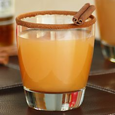 Fabulous fall cocktail, this Cinnamon Toast Cocktail warms you with hot cider and Captain Morgan's Spiced Rum!