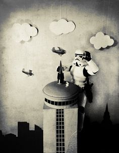 Storm Kong (Those are not the Planes you are Climbing for) by Lishoffs, via Flickr