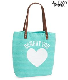 What You Love Tote - Bethany Mota Collection