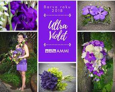 Věděli jste, že fialová, přesněji UltraViolet (ultrafialová), je barvou roku 2018? Fialová barva působí tajemně, duchovně, odráží vizionářské myšlení, rovnováhu, originalitu a vynalézavost. A my vás letos i fialově inspirujeme, protože fialová barva k přírodě a ke květinám patří. Barvu roku vyhlašuje společnost Pantone. Označení barev od Pantone používají grafici po celém světě. Inspirujte se fialovo bílou svatbou. Pokud chystáte svatbu v tomto roce, tak vás může fialová nadchnout.