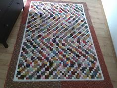 Another Scrap-Quilt by MrsQuilty on DeviantArt Scrap, Deviantart, Rugs, Sewing, Home Decor, Farmhouse Rugs, Dressmaking, Decoration Home, Couture