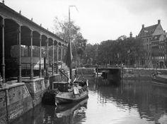 Jacob van der Hoeven, Vismarkt aan de Blaak, Rotterdam (1933)