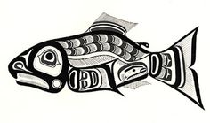 Pacific Northwest fish art