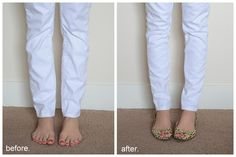 Merricks Art: make your skinny jeans skinnier (for those of us with chicken legs) (Tutorial)