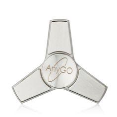 Premium Fidget spinner  stainless  steel silver high quality