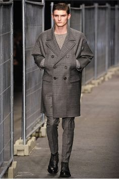 Neil Barrett's Fall/Winter 2012-13 - inspired by Crinoline period of Reefer or pea jacket