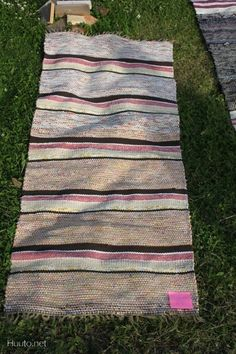 Picnic Blanket, Outdoor Blanket, Rag Rugs, Tear, Weaving, Table, Products, Craft, Sweater Vests