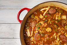 New Seafood Gumbo Recipe No Meat Ideas - Meeresfrüchte-Rezepte Cajun Recipes, Meat Recipes, Seafood Recipes, Slow Cooker Recipes, Asian Recipes, Cooking Recipes, Healthy Recipes, Ethnic Recipes, Asian Foods