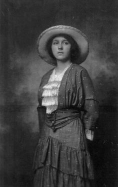 Maude Collins - Ohio's First (and possibly America's first) Female Sheriff in 1925. Maude was a capable sheriff. She was the first woman to ever deliver prisoners to the state penitentiary, a task she fulfilled fully armed in 1929. And her detective skills were considerable. On one case, she cleverly determined that a murderer had worn someone else's shoes to leave misleading footprints.