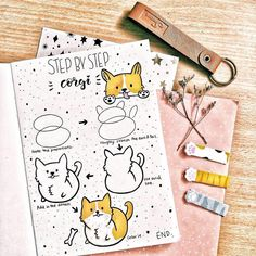 Want to find some insanely simple bullet journal doodle tutorials? These beginner friendly doodles are so easy to recreate inside your Bullet Journal! Bullet Journal Notebook, Bullet Journal Ideas Pages, Bullet Journal Layout, Bullet Journal Inspiration, Bullet Journal For Kids, Tier Doodles, Cute Doodles, Flower Doodles, How To Doodles