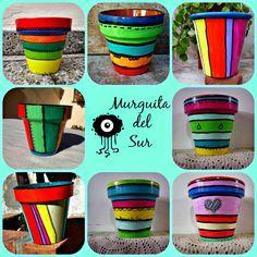 macetas pintadas - Buscar con Google Flower Pot Art, Clay Flower Pots, Flower Pot Crafts, Clay Pot Crafts, Clay Pots, Painted Plant Pots, Painted Flower Pots, Ceramic Pots, Terracotta Pots