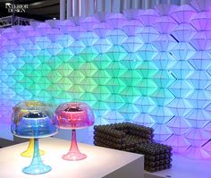 London Design Week is in the midst of its most successful year yet. See Interior Design's highlight reel from the show floor at 100 % Design. London Design Week, Interior Design Magazine, Interior Decorating, Interior Designing, Wine Glass, Invitations, Flooring, Diy, Highlight