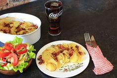 Potatoes Harmonica Recipe Great Appetizers, Appetizer Recipes, Dinner Recipes, Snack Recipes, Avocado Recipes, Salad Recipes, Healthy Recipes, Seafood Recipes, Chicken Recipes