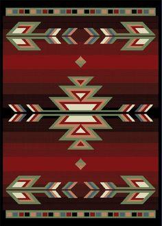 $5 Off when you share! Home Dynamix Premium 7053 Black Rug   Southwestern Rugs #RugsUSA