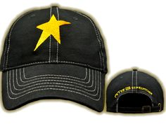 $25.00 Embroidered one size fits all, unstructured baseball cap. 100% cotton.