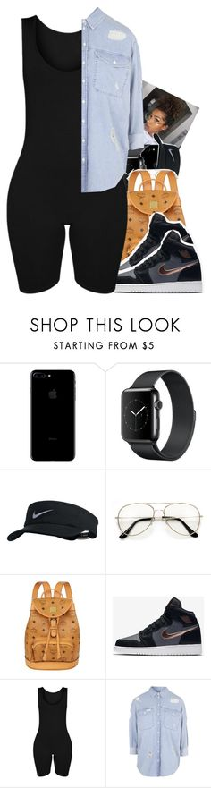 """Untitled #1878"" by txoni ❤ liked on Polyvore featuring NIKE, MCM and Topshop"