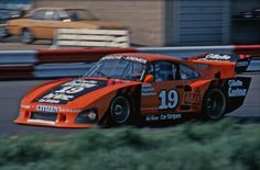 John Fitzpatrick Kremer Porsche 935 K3 Silverstone 1980 six hour race