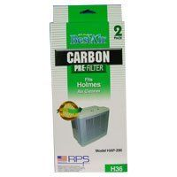 Holmes Carbon Pre-Filter H36 by RPS Products by Holmes. $9.99. Holmes Carbon Odor Filter by RPS fits models HAP290, HAP475 (HAPF-36)(H36) (2 Pre-Filters Per Box)