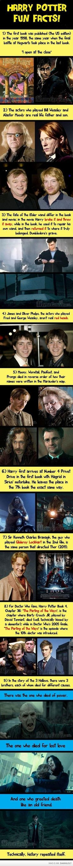 Funny pictures about Harry Potter facts. Oh, and cool pics about Harry Potter facts. Also, Harry Potter facts. Ridiculous Harry Potter, Harry Potter Fun Facts, Potter Facts, Harry Potter Love, Harry Potter Fandom, Harry Potter Memes, Hogwarts, Slytherin, Must Be A Weasley