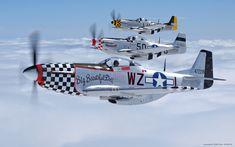 P-51D Mustangs