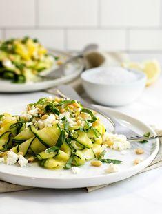 Raw Zucchini Salad m
