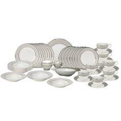45 Piece Dinnerware Set w/Serving Accessories