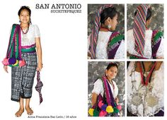 Traje típico de San Antonio Suchitepequez