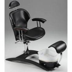 Belava Indulgence Pedicure Chair, chair angle