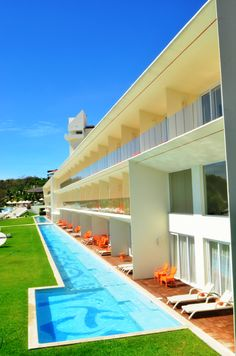 Visit the luxury of Huatulco and enjoy a swim right outside of your suite every morning!