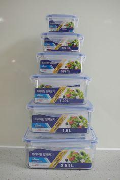 BPA Free Tritan Vacuum Airtight INCENSE Premium Food Container 185ml~2.54L #INCENSEPremium