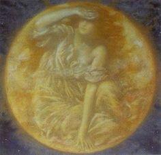 Radiant Moon, Edward Robert Hughes.