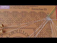 Encajes de Bolillos Comienzo - YouTube Lace Heart, Lace Jewelry, Bobbin Lace, Lace Detail, Youtube, Templates, Crocheting, Trapillo, Tutorials