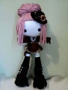 This is my lil steampunk sweetie. She likes adventurizing ^_^